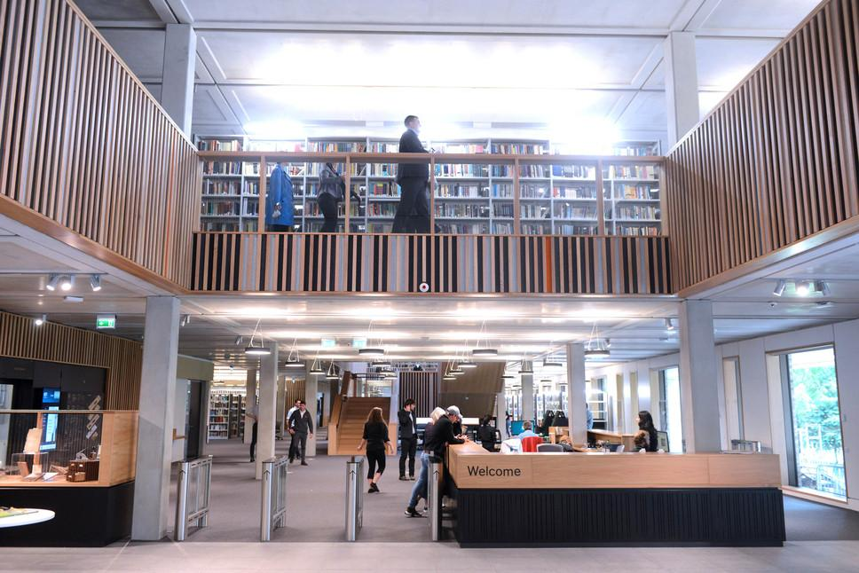 Roehampton Library Entrance